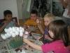 Izdelovanje velikonočnih prihov z otroki vrtca Tezno