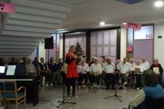 Koncert učencev in stanovalcev Doma z obiskom Miklavža