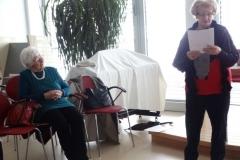Literarna urica z naslovom ''Le predi dekle predi'' z gospo Senica z gosti