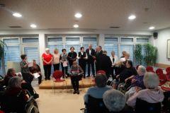 Koncert mešanega pevskega zbora DU Starše