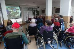 Predavanje z diapozitivi ''Biseri Slovenije'' v izvedbi gospoda Horvata