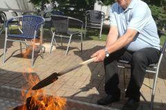 Piknik - pečena koruza