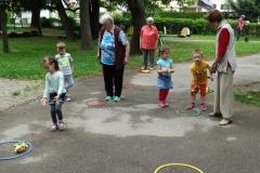 Športne igre v vrtcu Tezno