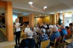 Nastop stanovalcev v Sončnem domu- Žoga Band in Grlice (2)