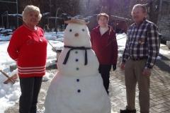Postavljanje snežaka