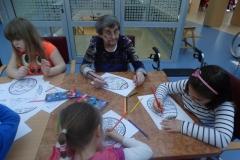 Velikonočna delavnica z otroki vrtca Tezno