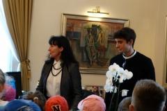 Obisk predsednika v predsednikovi palači