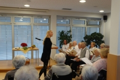 Literarna urica z gospo Senica in gosti