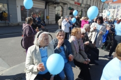 Sprehod za spomin-ozaveščanje o Alzheimerjevi bolezni