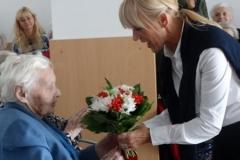 Kulturna prireditev ob praznovanju 102. rojstnega dne stanovalke gospe Wigele Ane 18.09.2017
